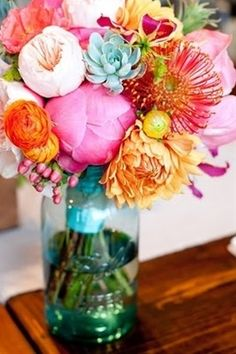 Bright summer bouquet! #summer #gardening #flowers