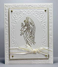 Embossed Angel by labullard - Cards and Paper Crafts at Splitcoaststampers