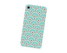 Sun Waves Pattern Iphone Skin 4S Gadget Sticker Cover by fieldtrip, $12.00