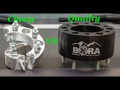 Cheap Wheel Spacers are Bad! Buy BORA Wheel Spacers Instead - YouTube Cheap Wheels, Tractor Accessories, Air Brush Painting, Dog Bowls, Tractors, Youtube, Stuff To Buy, Youtubers, Youtube Movies