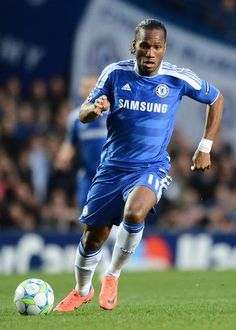 I know he isn't at Chelsea anymore, but Didier Drogba has and always will be my favourite football player ღ