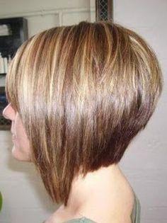 angled bob | Angled Bob Hairstyles Back View