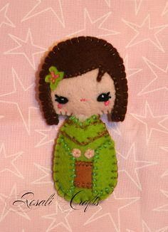 Rosalí Crafts. Accesorios personalizados.: Broche