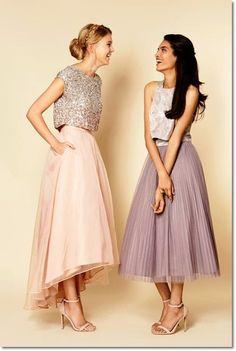 Look invitada de boda: rosa cuarzo y azul serenity | Bodas