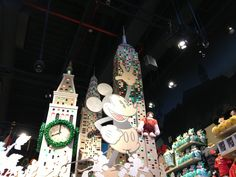 Disney Store Times Square NYC