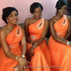 African Sweetheart: African Sweetheart Weddings On Instagram Part 8 African Wedding Dress, African Weddings, Bridesmaids, Bridesmaid Dresses, Girls Dresses, Flower Girl Dresses, White Weddings, Black Bride, All About Fashion