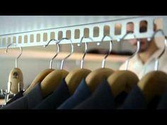 Dynamic Closet & Wardrobe Valet   Easy Dress - Metalprogetti Attic Bedroom Storage, Attic Bedroom Designs, Attic Rooms, Dressing Room Closet, Wardrobe Closet, Closet Space, Easy Dress, Simple Dresses, Walk In Closet Dimensions