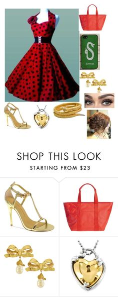 """an outfit#4"" by keelagirl on Polyvore featuring Chinese Laundry, Tory Burch, Vintage, West Coast Jewelry, women's clothing, women, female, woman, misses and juniors"