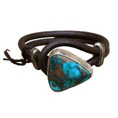 Women's Boho Fashion Vintage Inspired Bracelets | Bracelets Turquoise Leather…