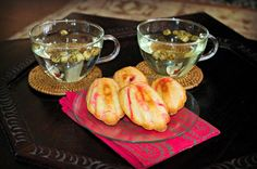 Cooking for Kishore: Happy St. Valentine's Day! Raspberry Madelines