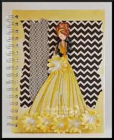 CC510 - Prima Doll for my Prima Doll by ohmypaper! - Cards and Paper Crafts at Splitcoaststampers