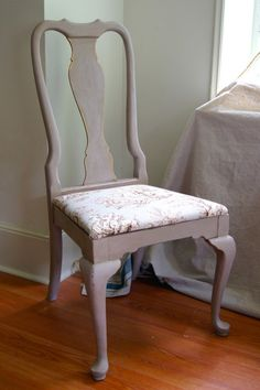Paloma Chalk Paint® Chair, With Normandie Annie Sloan Fabric Painting  Fabric Furniture, Chalk