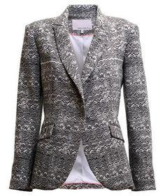 Boyfriend blazer by Shoulder. Love the pattern! Gotta have it!!!!