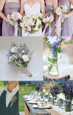 This wildflower bouquet with hints of purple and lilac colors is beautiful for an outdoor wedding any time of the year. The burlap wrap adds an extra rustic touch. Please take a look at this bouquet in our Etsy Shop, Blue Orchid Creations. Any bouquet can be customized by size, style and color for any bride.