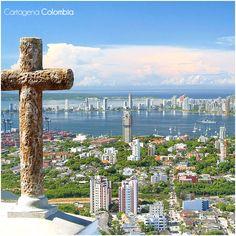 #Cartagena, es una ciudad predilecta que encanta por sus calles empedradas, edificaciones coloniales, iglesias y murallas con casi 500 años de historia, por tal motivo su centro histórico fue declarado Patrimonio Cultural de la Humanidad por la #UNESCO  #Travel   #Cultura   #Turismo   #Vacaciones