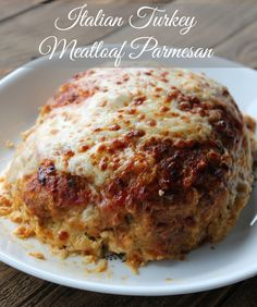 Italian Turkey Meatloaf Parmesan 265 calories and 7 weight watchers points plus