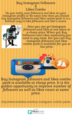 Do you believe that different services can be available at same place? It is possible you can buy instagram followers and likes combo at the same time with same price. Through this service your posted content will get boosted at instagram platform.