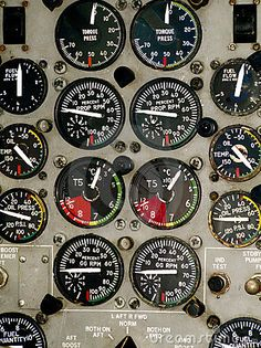 Airplane Cockpit Instruments .#JORGENCA