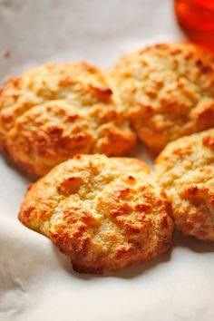 The Chubby Vegetarian: Amazing Almond Flour Biscuits (Gluten Free)