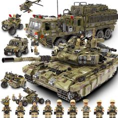 Military Vehicles Sets