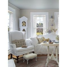 From Prairie Style magazine: a prairie pretty living room Fifi O'neill