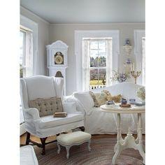 From Prairie Style magazine: a prairie pretty living room Fifi O'neill
