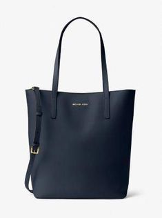 66c8c07cda8777 MICHAEL Michael Kors Emry Large NS Leather Tote Admiral >>> Be sure to  check out this awesome product. (This is an affiliate link) 0
