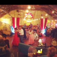 December junk-o-Rama prom... infinitely magical.