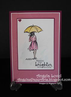 Wishing your brighter days features the Stampin' Up! Occasions 2017 catalogue Beautiful You stamp set and watercolor pencils available from my online store: http://www3.stampinup.com/ECWeb/default.aspx?dbwsdemoid=4011749   #angelaspaperarts  #Occasions2017