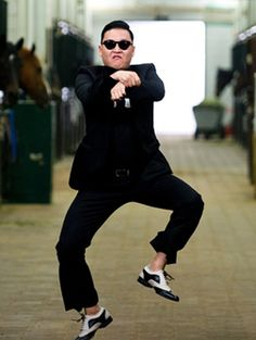 GANGNAM STYLE!!! I am kinda in love with song.....
