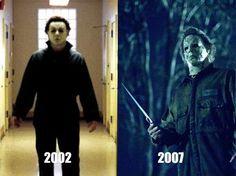 Halloween - Then & Now
