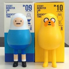 TOYSREVIL: Sticky Monster Lab x Adventure Time