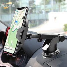 Cellphones & Telecommunications Universal Car Phone Holder Suction Cup Sucker Metal Sucker Tablets Desk Sucker Design For Iphone Xs X Xiaomi Phone Holder Stand Numerous In Variety Mobile Phone Holders & Stands