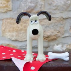 Classic Gromit Figurine Flocking, Sheep, Snoopy, The Originals, Classic, Unique, Design, Comic, Derby