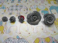 Die keer dat ik rozen probeerde maken uit klei