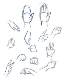 Manga Drawing Techniques There are many techniques to draw hands, but my favorite is the mitten technique. Start with a basic shape and the thumb, and then draw the fingers in. Drawing Skills, Drawing Techniques, Drawing Tips, Drawing Sketches, Drawing Ideas, Sketching, Drawing Anime Hands, Nose Drawing, Manga Drawing