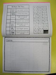 Monthly Writing Journal-Kindergarten