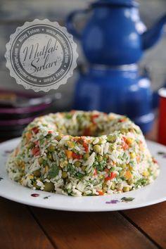 How is rice salad made? The tricks of the recipe are … Pirinç Salatası nas… How is rice salad made? The tricks of the recipe are … Pirinç Salatası nasıl yapı Armenian Recipes, Turkish Recipes, Best Rice Recipe, Recipe Recipe, Fruits Decoration, Rice Salad Recipes, Appetizer Salads, Tasty, Yummy Food