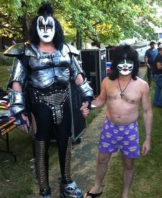 ☆ Eric Singer & Gene Simmons O_O - eric-singer Photo