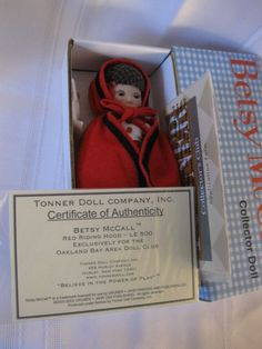 8: Tiny Betsy McCall - Red Riding Hood #Tonner