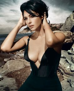 Monica Bellucci; photo by Vincent Peters for Esquire