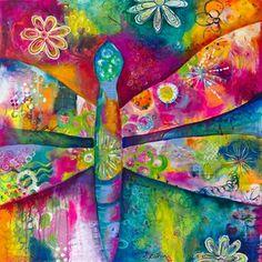 Dreamy Dragonfly by Stephanie Estrin