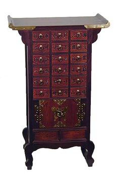 Decorative Collectibles Display Red Suan-zhi Wood Rosewood China 2-door Miniature Bamboo Style Cabinet Aesthetic Appearance