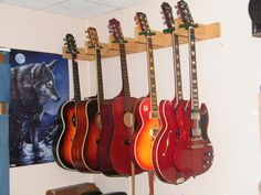 wonderful guitar hanger #36697 Guitar Room, Guitar Case, Guitar Storage, Fender American Standard, Guitar Cabinet, Guitar Hanger, Cabinet Furniture, Furniture Ideas, Wishes Images