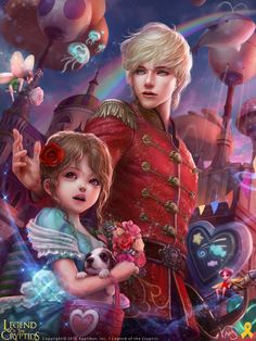Artist: Yang Mansik aka yam8417 - Title: Unknown - Card: Clara & the Nutcracker (Charmed)