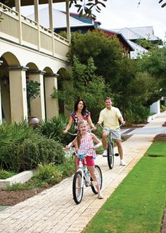 Love Riding Bikes Along The 30a In Rosemary Beach Florida