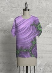 Purple Dreams Modern Tee: What a beautiful product!