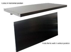 For P,s flameworkng, but not deep enough. Stainless Wall-mounted Folding Workbench, 41 W X 20 D - Amazon.com