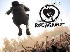 September 2012- Rise Against with Hot Water Music and The Gaslight Anthem. Great show, probably the craziest show I've been to. They had a signing at a record company before the concert, so we were able to meet them and get an album autographed. SO COOL