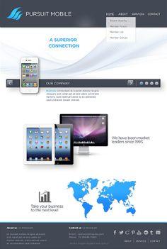 #Demo #Pursuit Mobile InDepth Design Solutions #Webdesign #inspiration #web